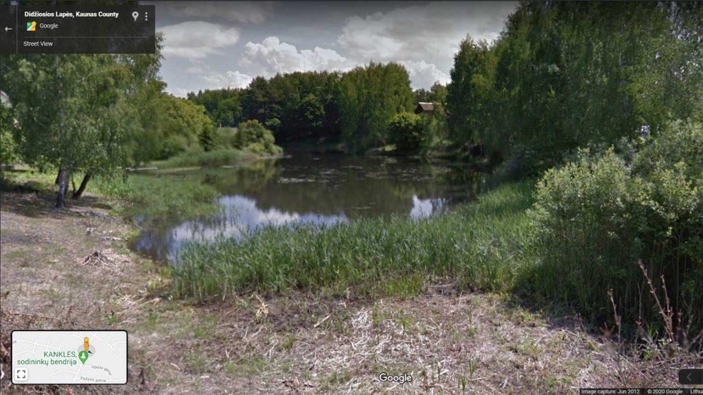Tvenkinio seklusis galas 2012-06 (Google nuotrauka)